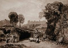Sheep Washing, Windsor (Windsor Castle from Salt Hill)