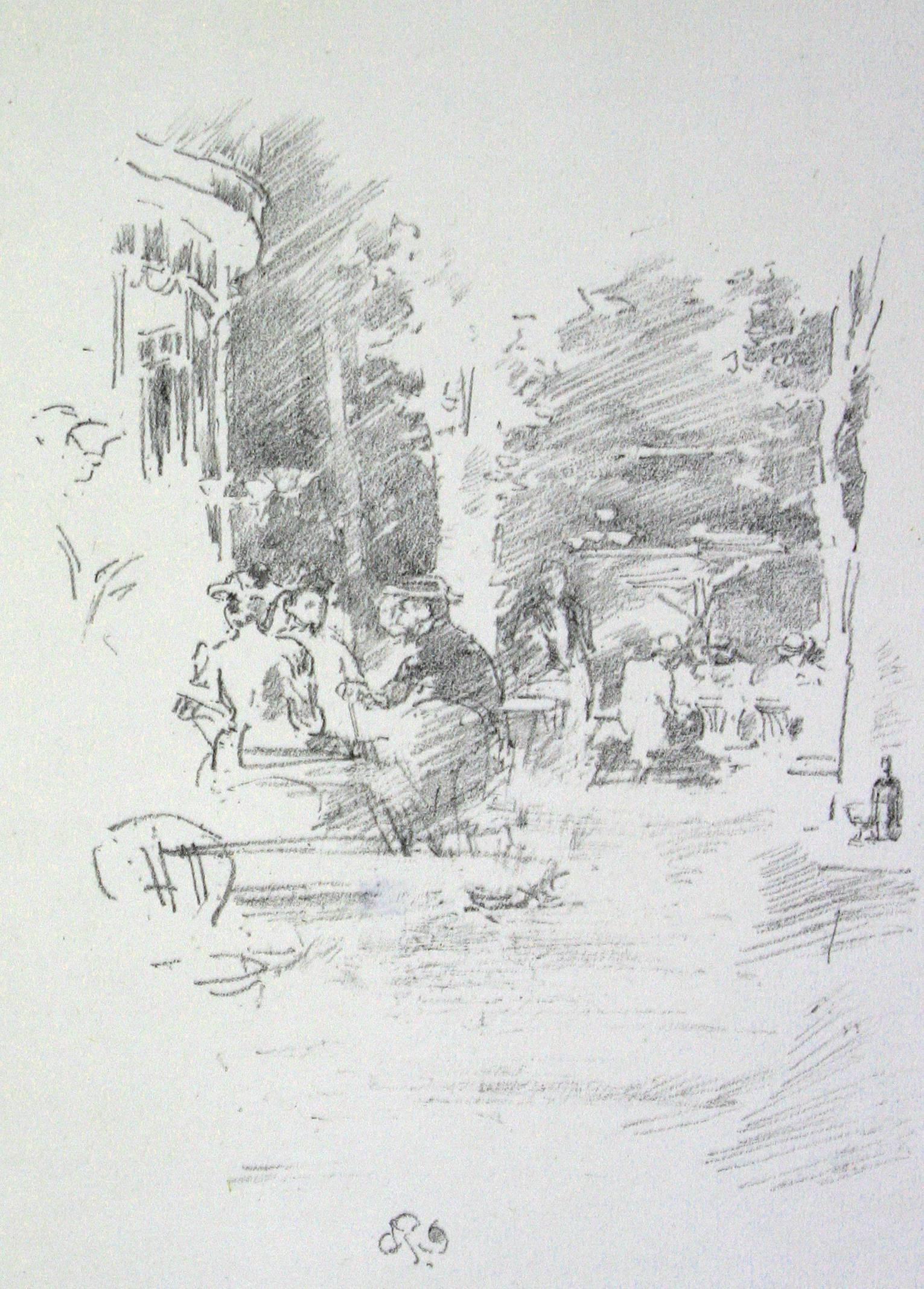 The Little Café au Bois.