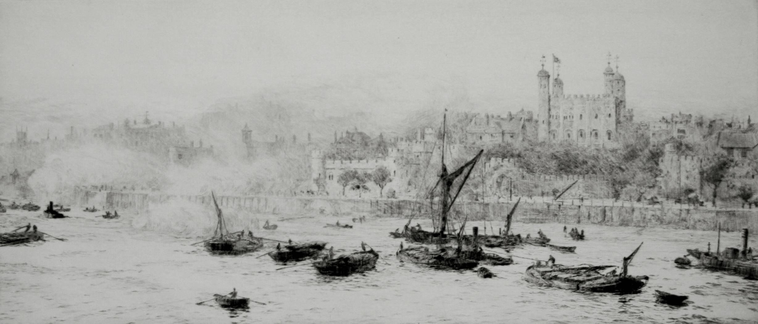 The Thames and the Tower of London