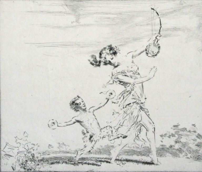 Troy Kinney Figurative Print - Arcadia.