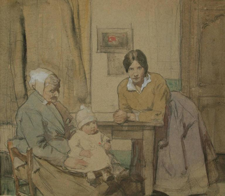 Three Generations. - Art by William Lee Hankey