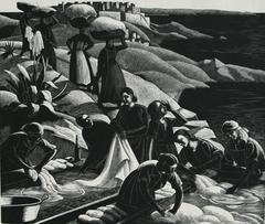 Corsican Washerwomen
