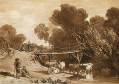 Bridge and Cows.