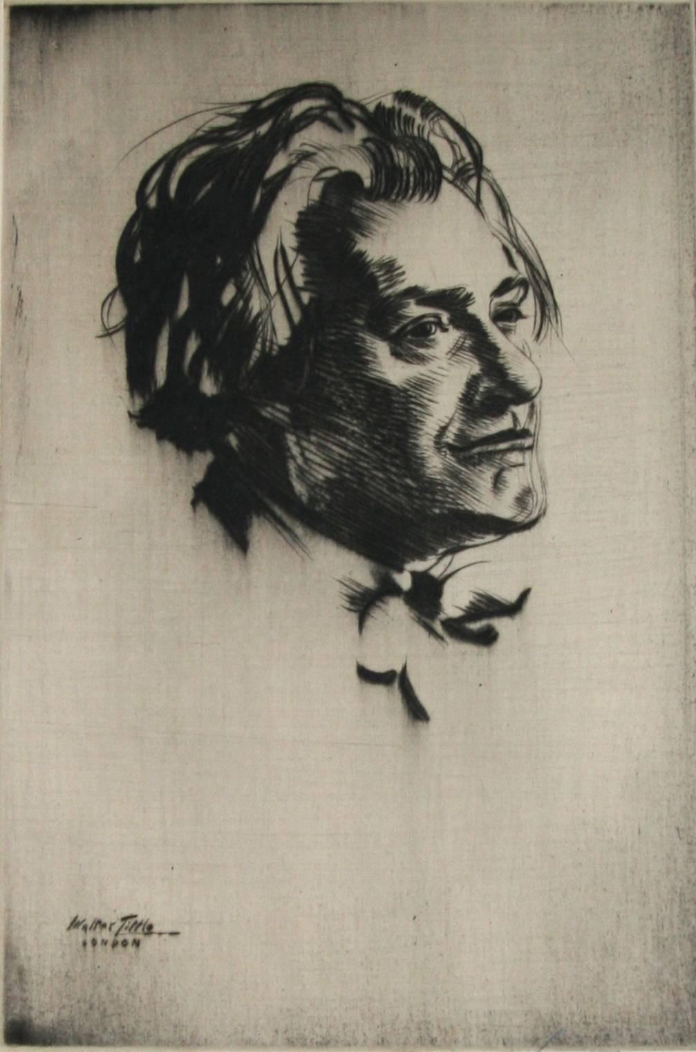 Portrait of James McBey.