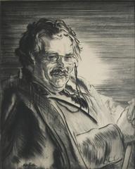 Portrait of G[ilbert] K[enneth] Chesterton