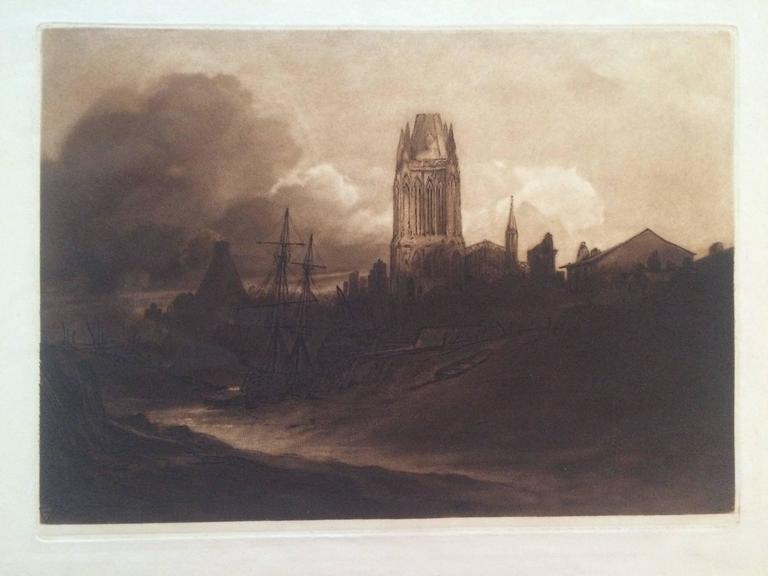 Sir frank short st mary redcliffe bristol print for sale at 1stdibs for St mary redcliffe swimming pool