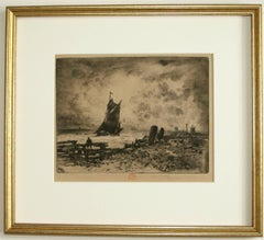 La petite marine -- Souvenir de Medway. (Little Seascape, a Remembrance of the M