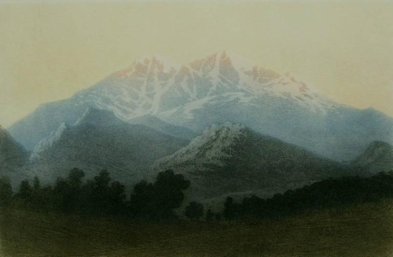 Longs Peak, Estes Park, Colorado (no. 2).
