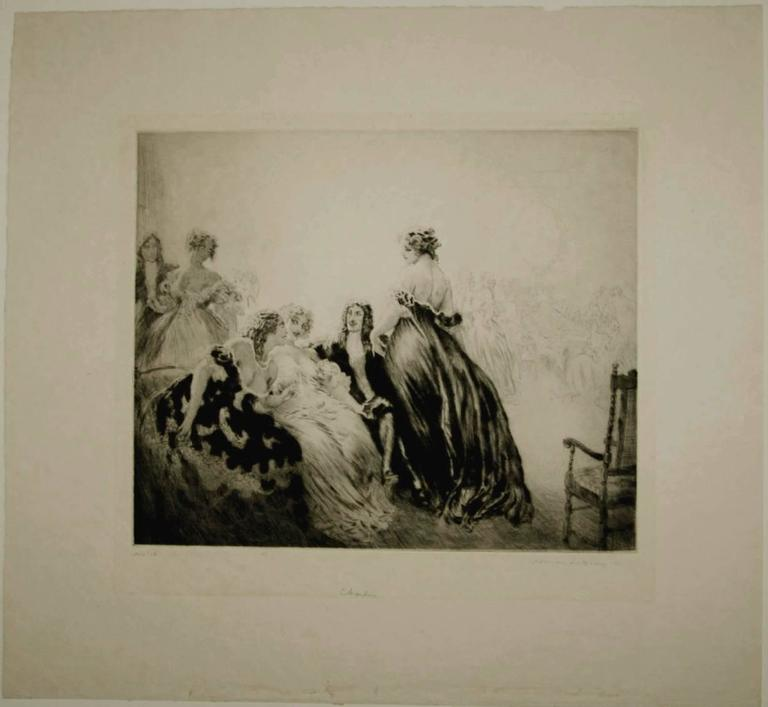Norman Alfred William Lindsay Charles Print For Sale