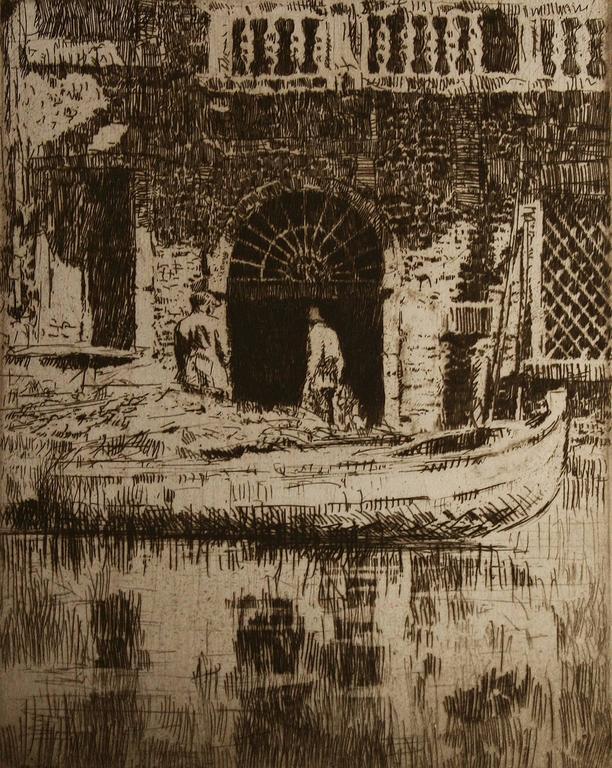 James Mcbey The Doorway Print For Sale At 1stdibs