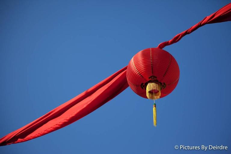 Deirdre Allinson Color Photograph - Chinese Lantern, Chinatown, Singapore.