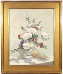 Still Life with Flowers and Pears.