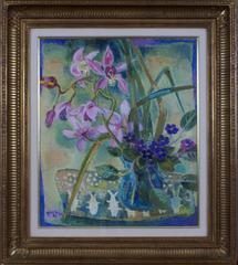 Les Orchidées Roses (Pink Orchids)