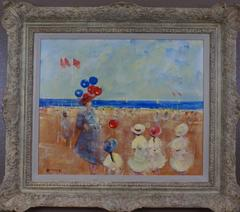 [The Beach at Deauville]