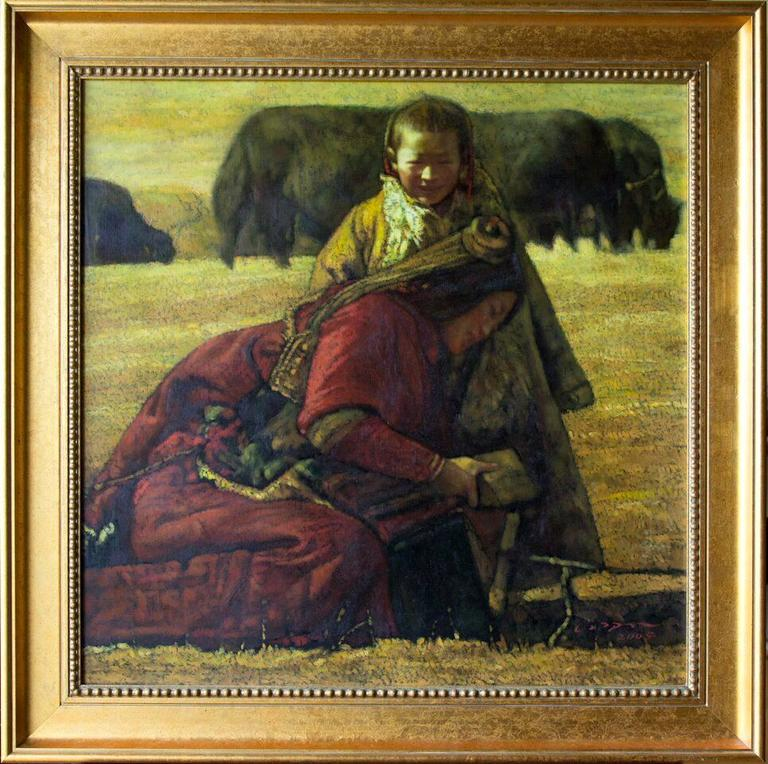 Tibetan Mother and Child.