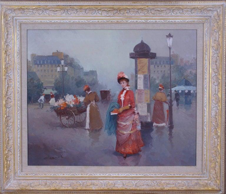 Luis Sagasta - Le Boulevard (Street Scene) 1
