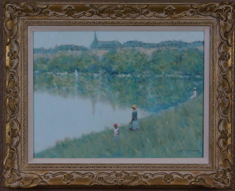 André Gisson Landscape Painting - Landscape