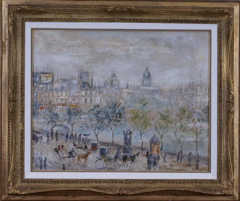 Cesar A. Villacres Landscape Painting - {View of Paris}