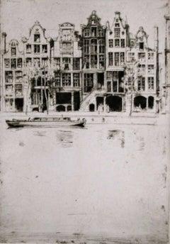 David Young Cameron - Souvenir d'Amsterdam.