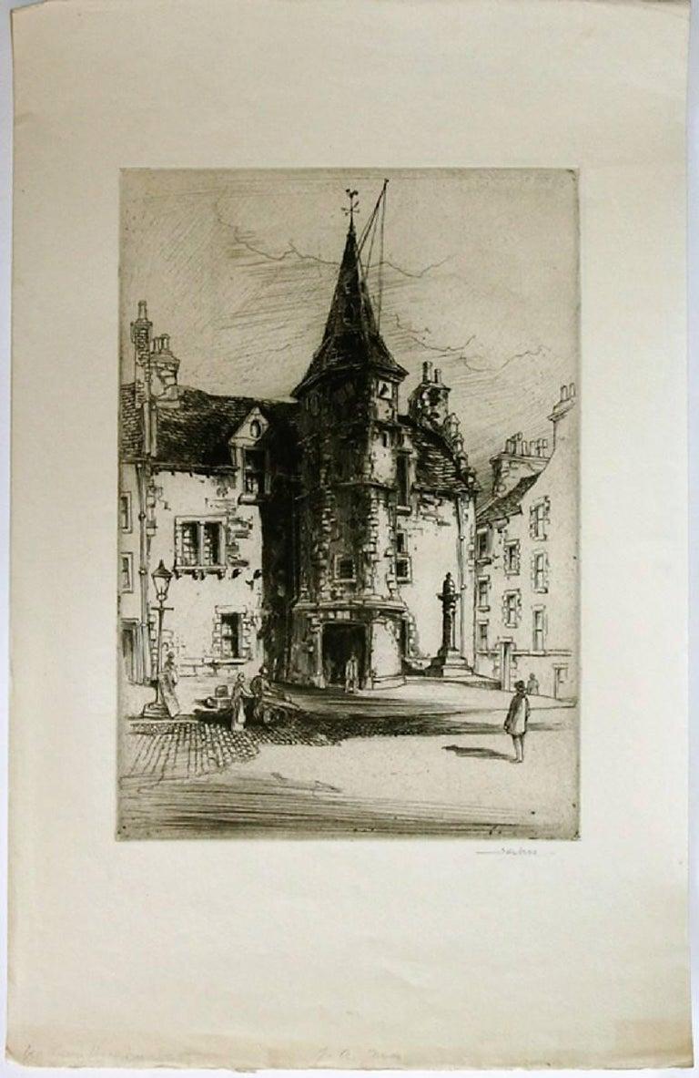 John Alexander Ness Old Town Hall Dunbar Print For