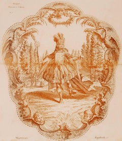 Beaupré,  Danseur à l'Opéra (Beaupré, dancer at the Opera)
