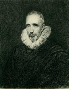 Cornelius Vander Geest (after Anthony Van Dyck 1599-1640).