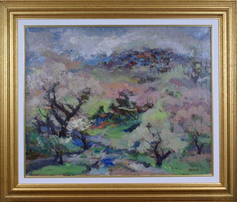 Armando Sozio Landscape Painting - Spring