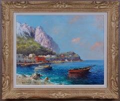 {Harbor of Capri}
