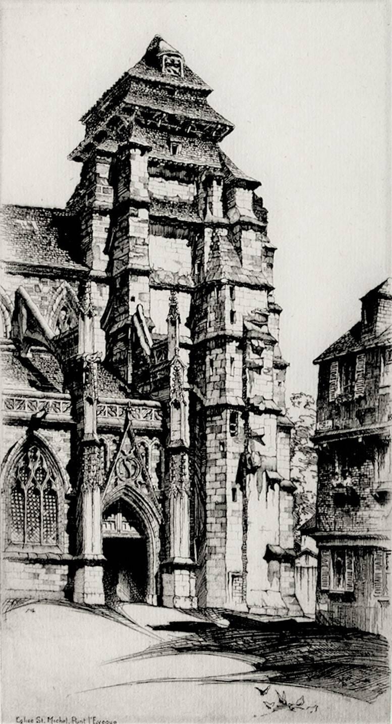 Église Saint Michel, Pont L'Évêque.