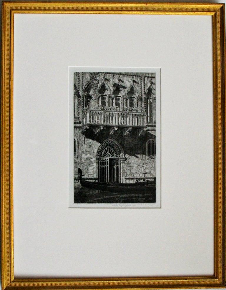 John Taylor Arms Landscape Print - The Balcony (Venetian Gateway).