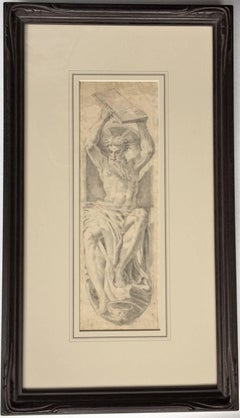 Moses Breaking the Tablet of the Law (after Parmigianino. 1503-1540)