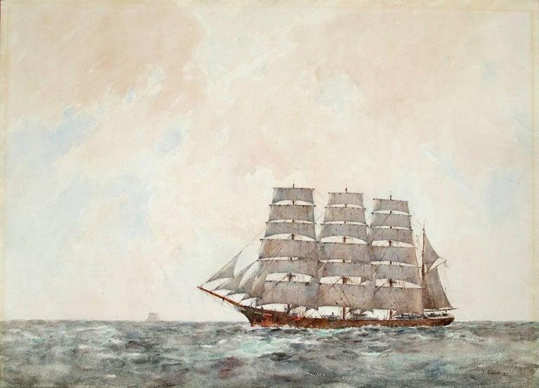 The Archibald Russell.  - Art by Arthur John Trevor Briscoe