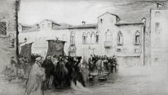 Campo Santa Margherita, Venise.