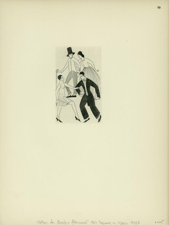 Eric Gill Clothes For Dignity And Adornment Print For