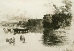 A Lancashire River.