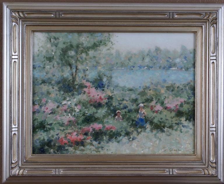André Gisson Landscape Painting - French Landscape