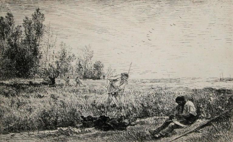 La Fenaison (The Hay Harvest).