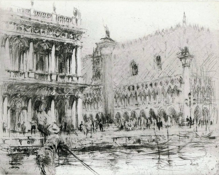 The Piazza San Marco, Venice.