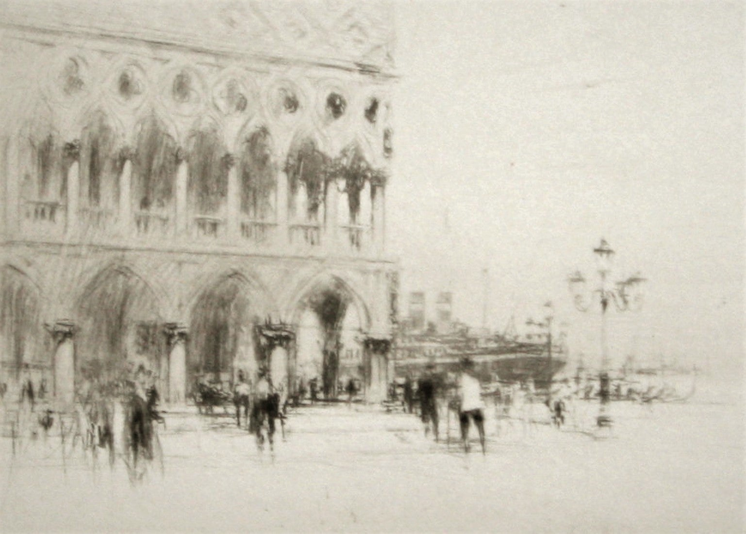 The Doge's Palace., Venice.