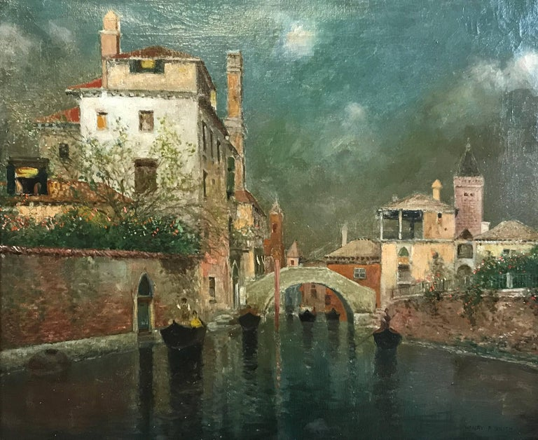 Venice - Painting by Henry Pember Smith