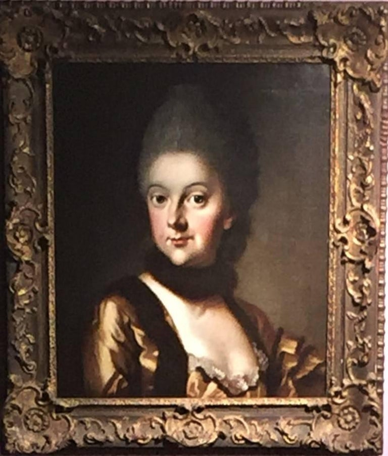 Johann Ernst Heinsius - Duchess Anna Amalia Herzogin von Sachsen 1