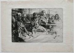 James Abbott McNeill Whistler - Longshore men.