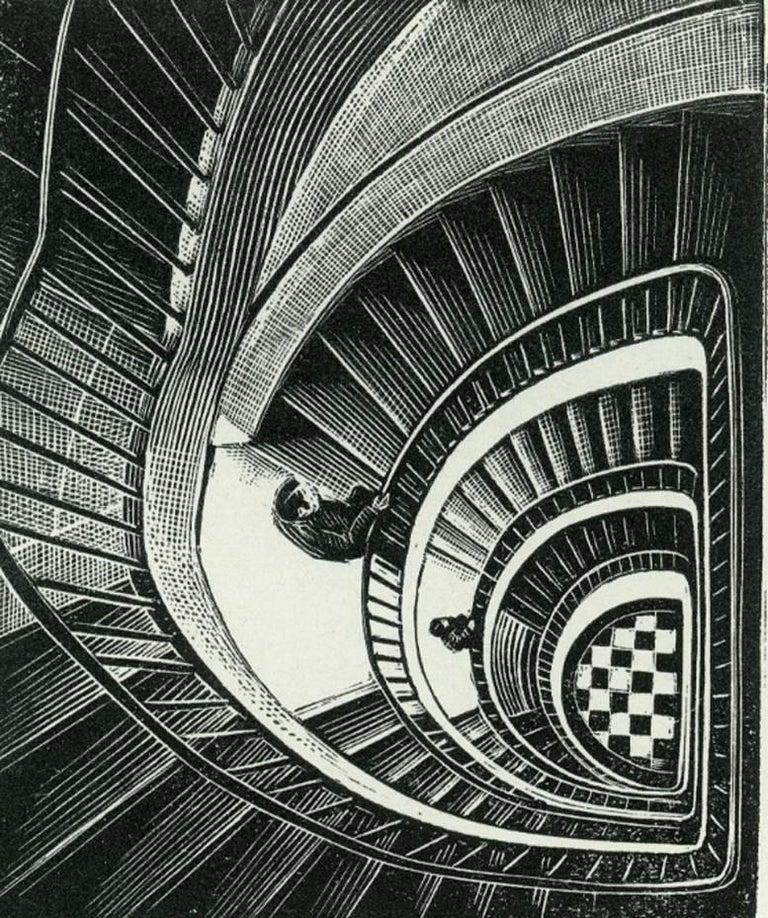 Littauer Center Staircase [Harvard University, Cambridge, Massachusetts].