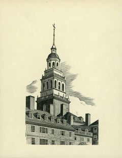 Lowell House Tower [Harvard University, Cambridge, Massachusetts].