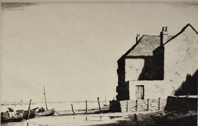 Martin Hardie Wells On Sea Print For Sale At 1stdibs