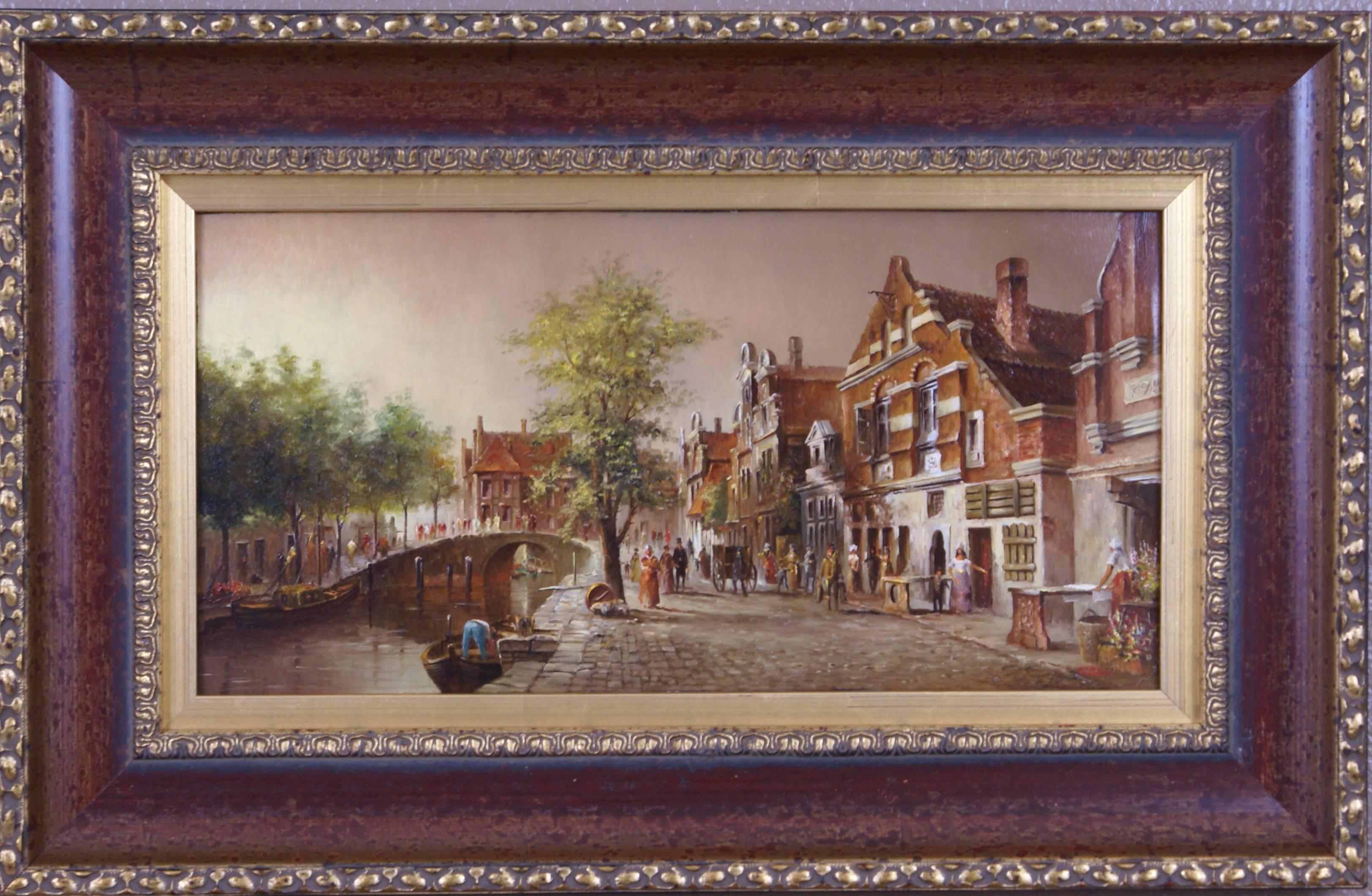 {Hollandisches Stadt}  Dutch City