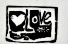 Love (white background)