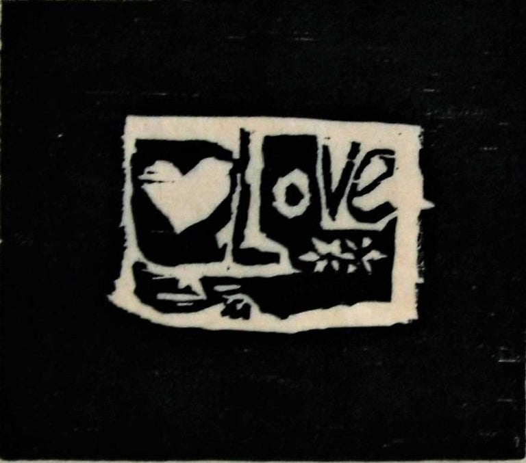 Love (black background).