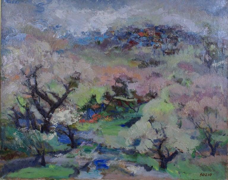 Spring - Painting by Armando Sozio