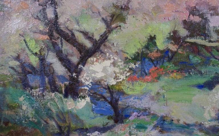 Spring - Impressionist Painting by Armando Sozio